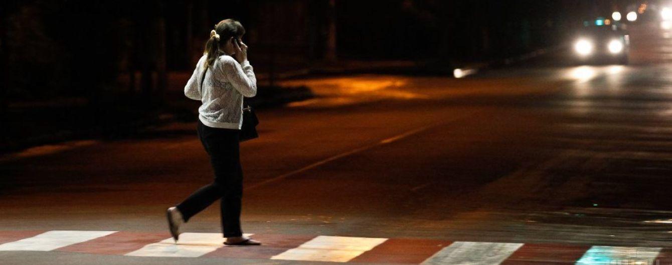 В Україні хочуть по-новому обладнувати зони біля переходів задля безпеки пішоходів