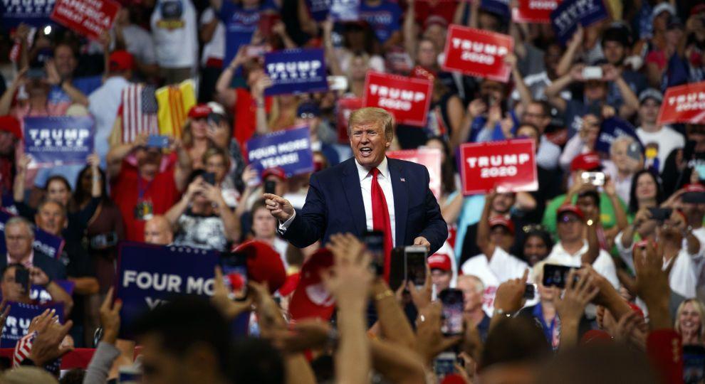 Трамп официально объявил о своем участии в выборах президента США