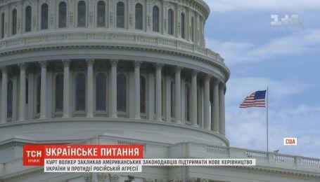 Курт Волкер призвал американских конгрессменов поддержать новое руководство Украины