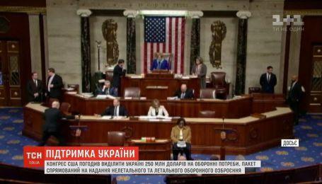 250 мільйонів доларів на безпеку України: Конгрес США погодив фінансову допомогу