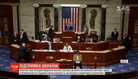 250 миллионов долларов на безопасность Украины: Конгресс США одобрил финансовую помощь
