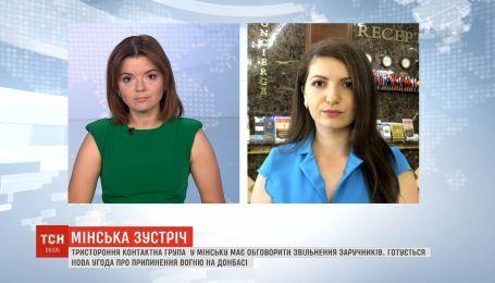 Участники минских переговоров должны были подготовить предложения по внедрению режима тишины в Донбассе