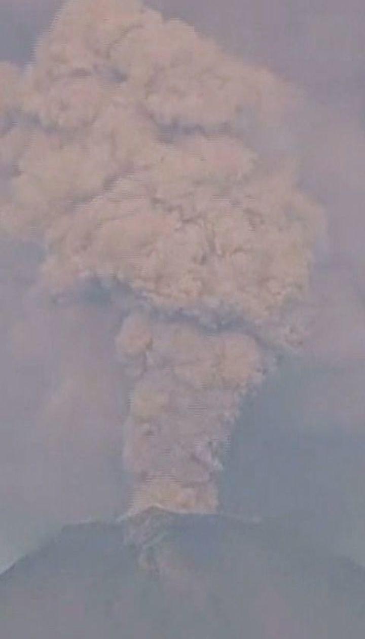 У Мексиці активізувався один із найбільших вулканів