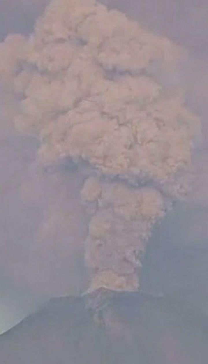 В Мексике активизировался один из крупнейших вулканов