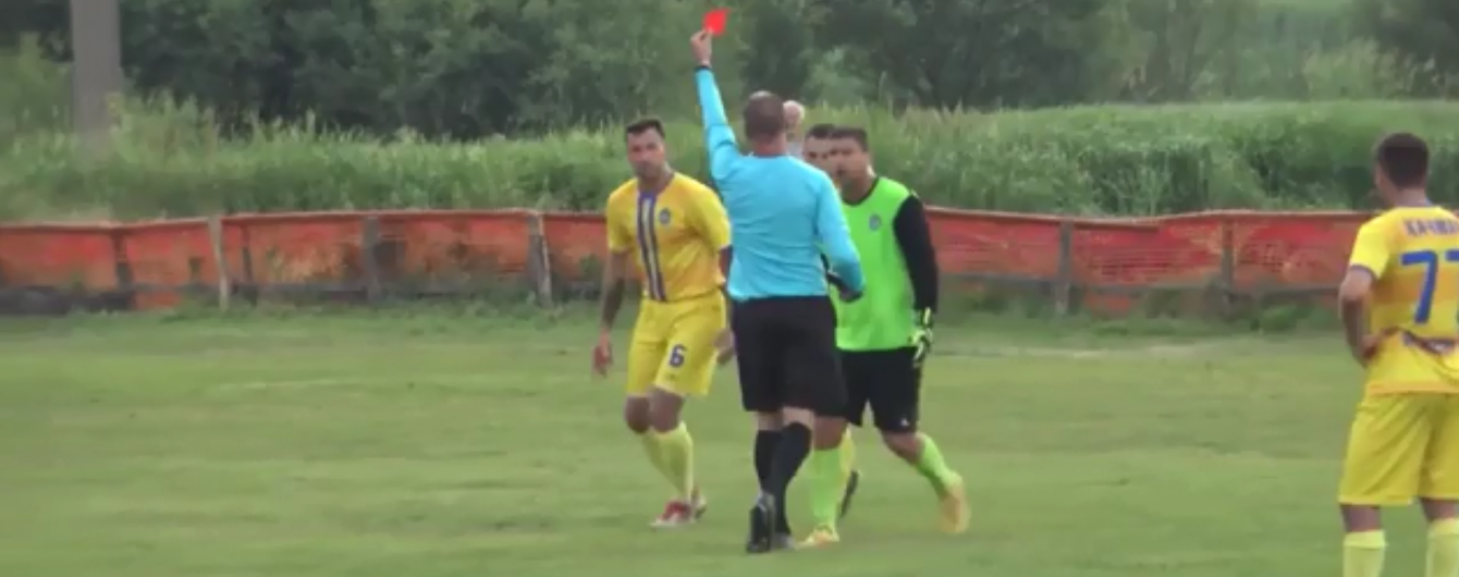 На Львовщине президент клуба ударил арбитра в голову прямо во время матча