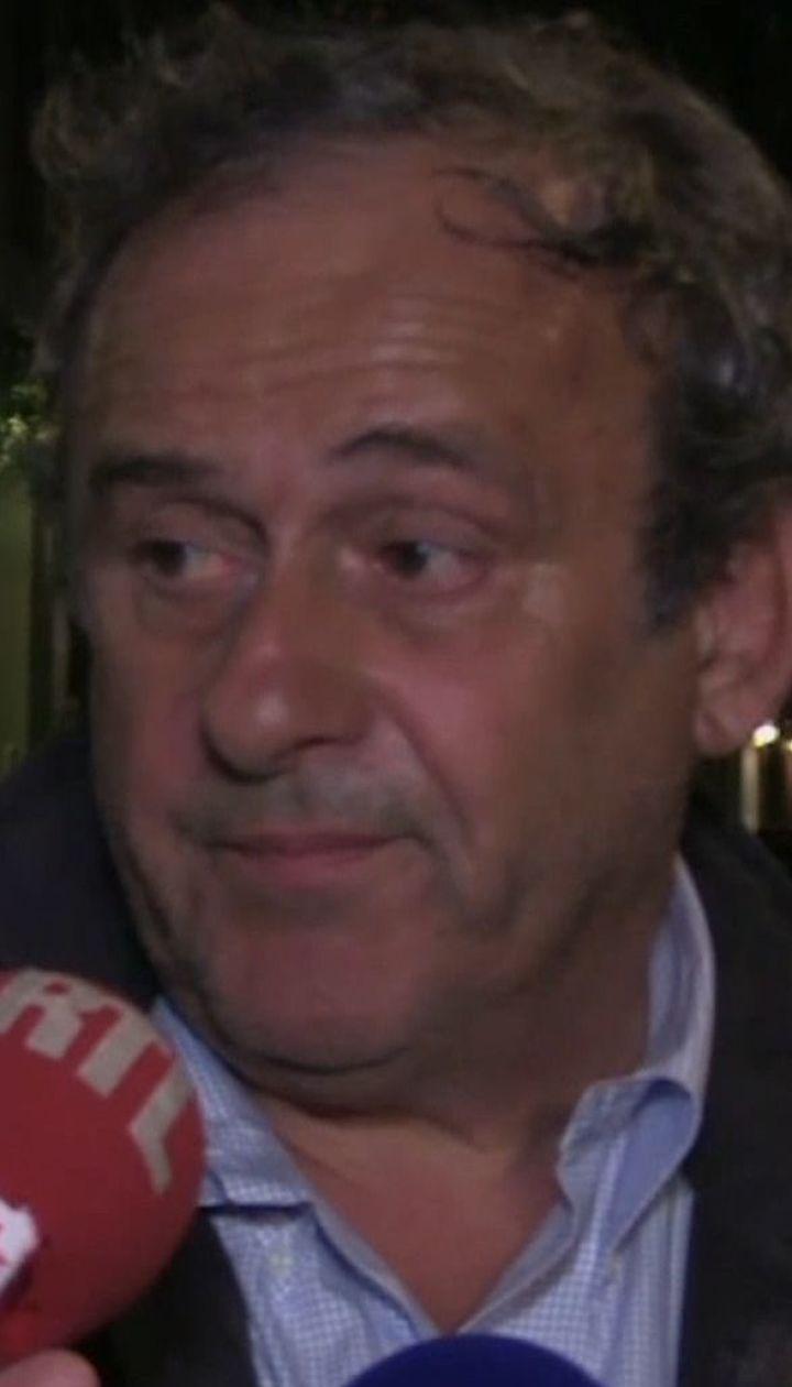 Экс-голову УЕФА Платини допрашивали 15 часов, а после – отпустили