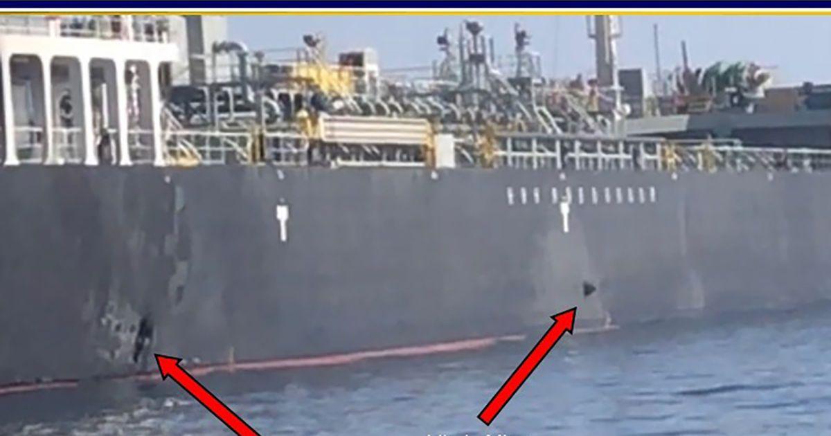 США мають докази, що японський танкер підривали іранською міною