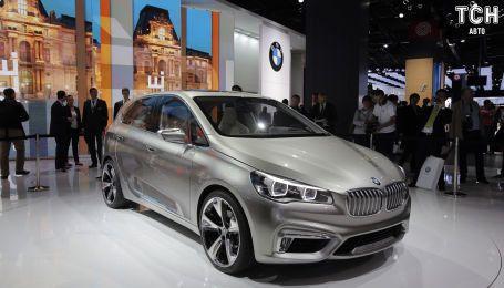 BMW полностью откажется от минивэнов