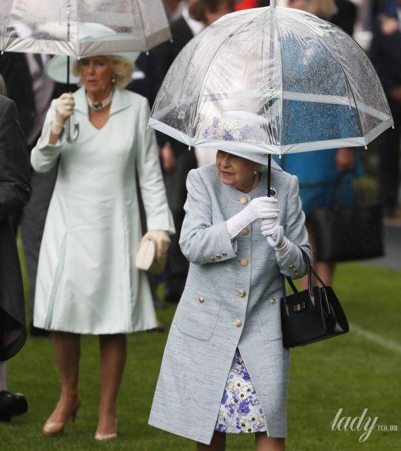 Королева Елизавета II и герцогиня Корнуольская_2