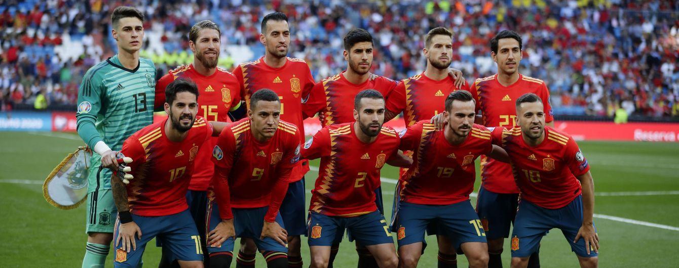 Сборная испании по футболу 4 июня