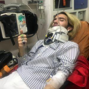 """""""Били ногами по голові, залили газом"""". У столиці напали на відвідувачів """"КиївПрайду"""""""