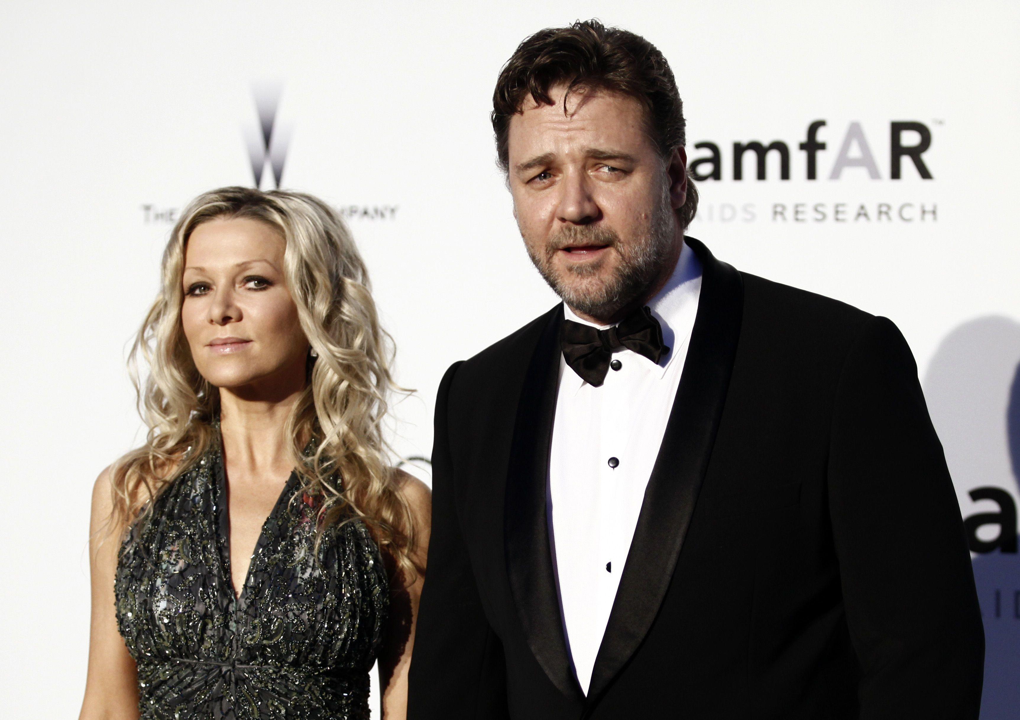 Рассел Кроу з дружиною
