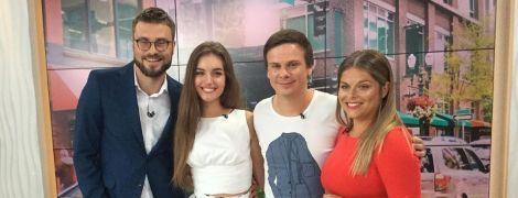 Жена Дмитрия Комарова рассказала, взяла его фамилию