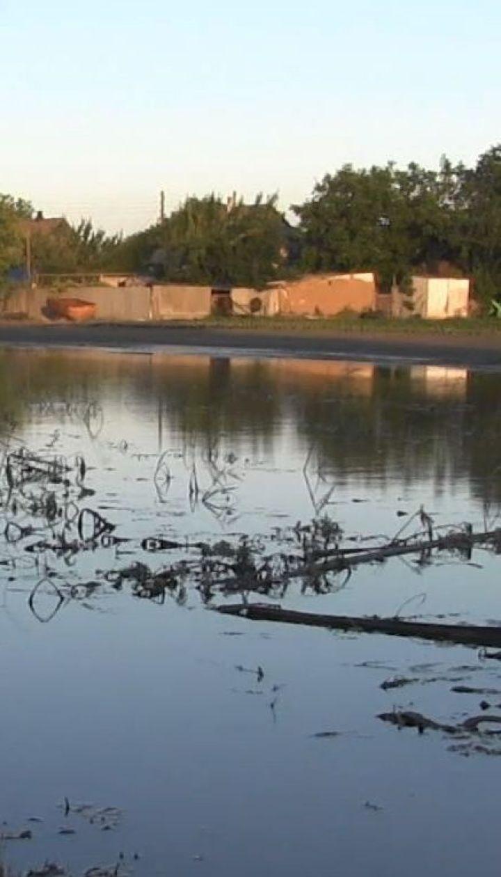 В Новой Маячке на Херсонщине не могут оценить ущерб, нанесенный подтоплением