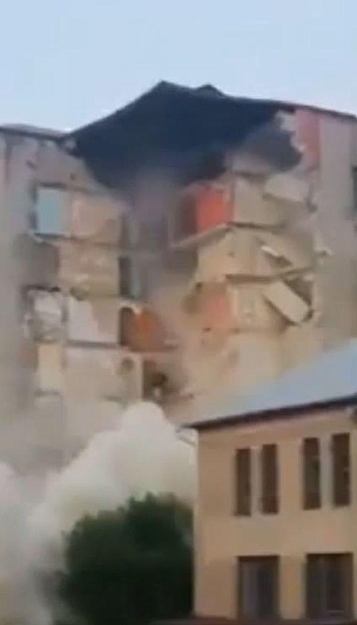В Молдове вблизи границы с Украиной обвалилась аварийная 9-этажка