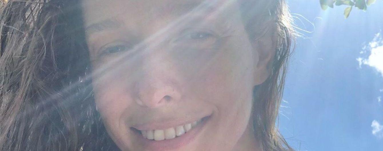 Без макияжа и с сыном: Катя Осадчая показала милое фото