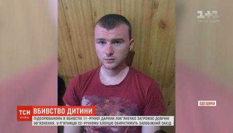 21 червня підозрюваному у вбивстві Дарини Лук'яненко оберуть запобіжний захід