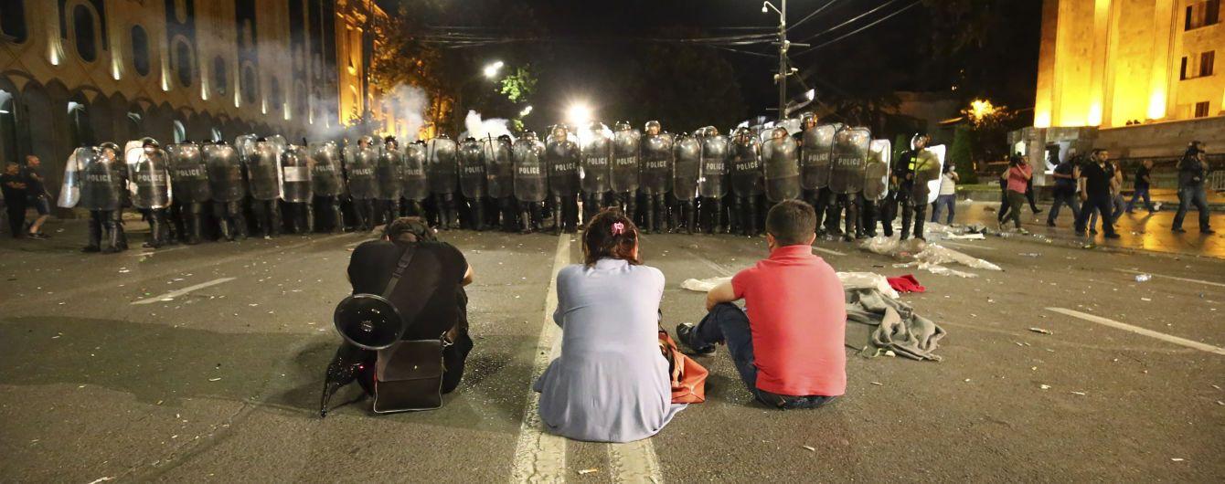 В прокуратуре Грузии квалифицировали штурм парламента как попытку госпереворота
