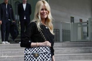 Вся в Chanel: Клаудия Шиффер на вечере памяти Карла Лагерфельда