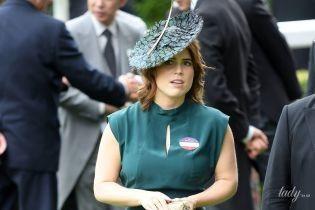З пітоновим клатчем і в капелюсі з пір'ям: принцеса Євгенія в Аскоті