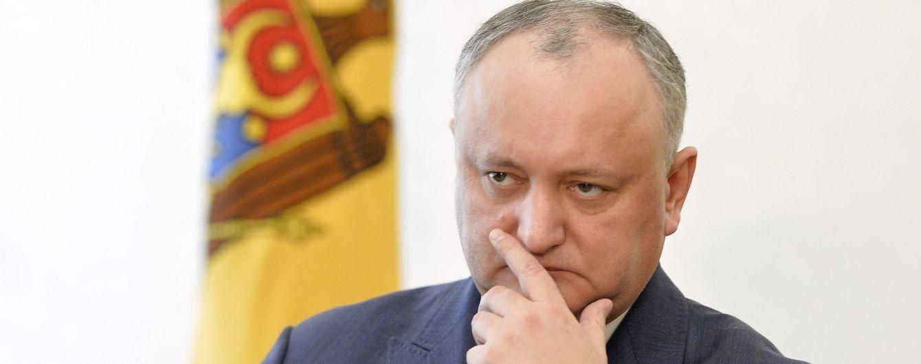 В Совете Европы признали незаконным отстранение президента Молдовы Додона
