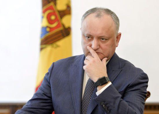 У Раді Європи визнали незаконним відсторонення президента Молдови Додона