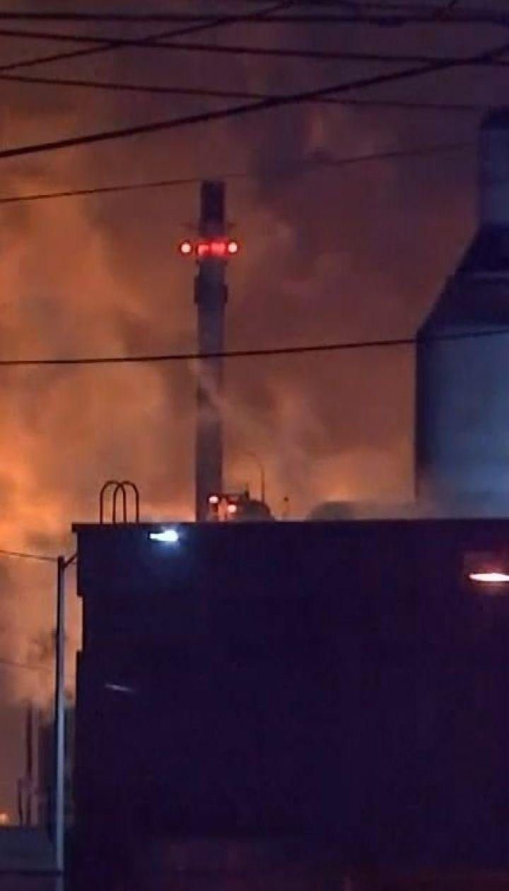 На нефтеперерабатывающем заводе в Филадельфии прогремели взрывы