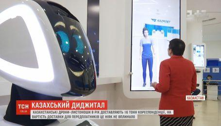 В Казахстане дроны-почтальоны в год доставляют 16 тонн корреспонденции