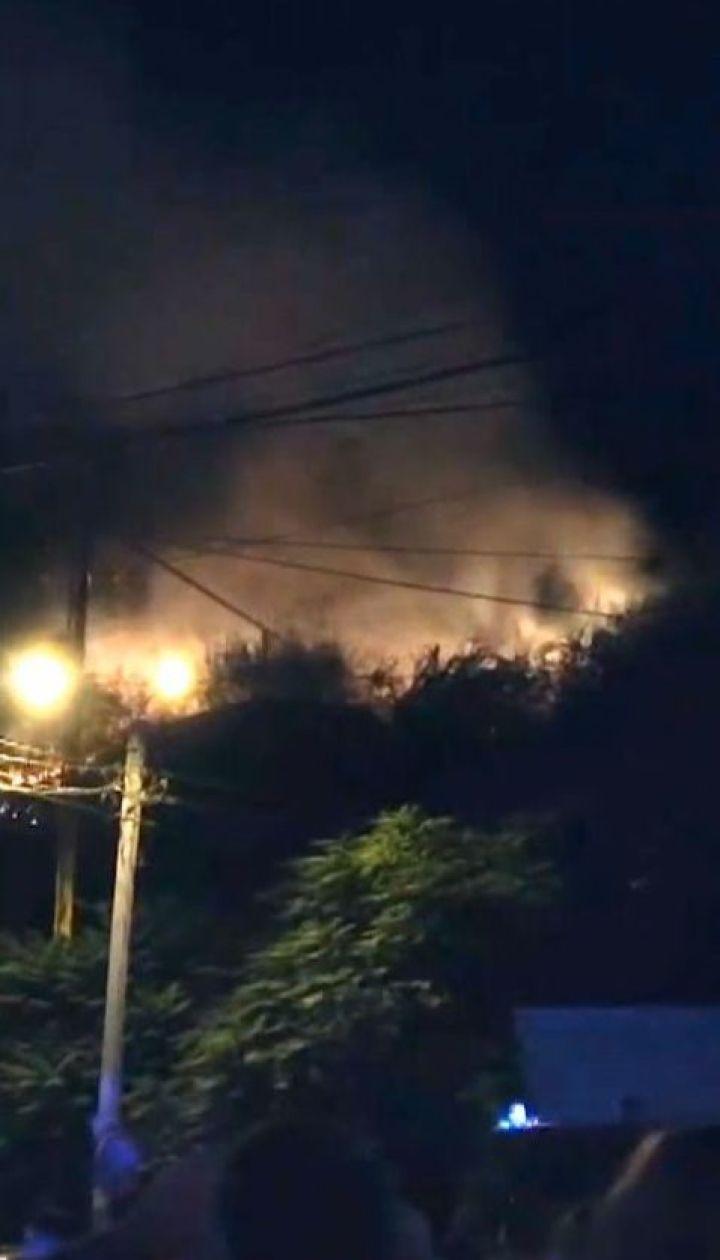 Іскри з феєрверків підпалили елітний район Одеси