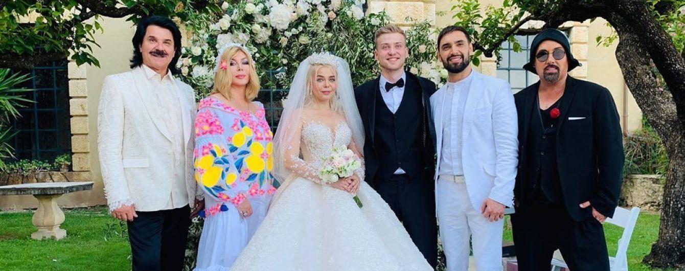 Зібров та Білик погуляли на весіллі Аліни Гросу