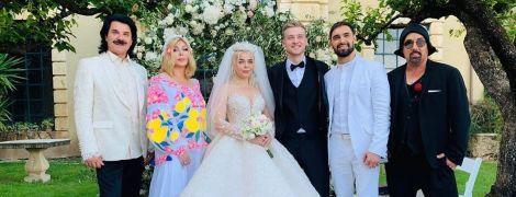 Зибров и Билык погуляли на свадьбе Алины Гросу