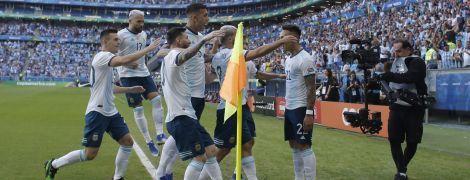 Сборная Аргентины продралась в плей-офф Кубка Америки