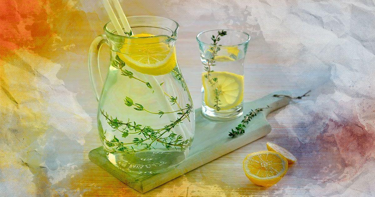 Лимонад с чабрецом: идеально простой рецепт