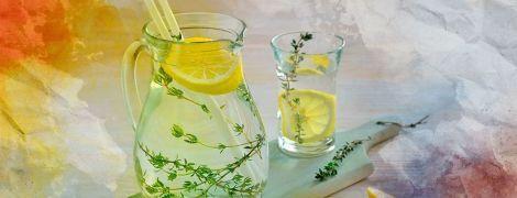 Лимонад з чебрецем: ідеально простий рецепт
