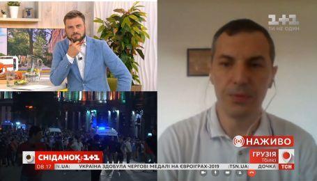 Протесты в Грузии: последние новости от блогера Гиорги Джахая