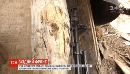 На восточном фронте группа исследователей нашла тело пропавшего накануне бойца