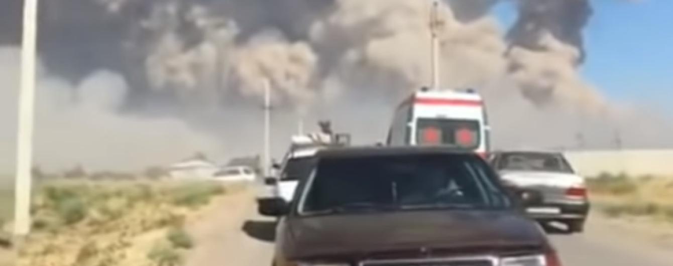 Вибухи на військових складах у Казахстані: до лікарень вже звернулися понад 10 постраждалих