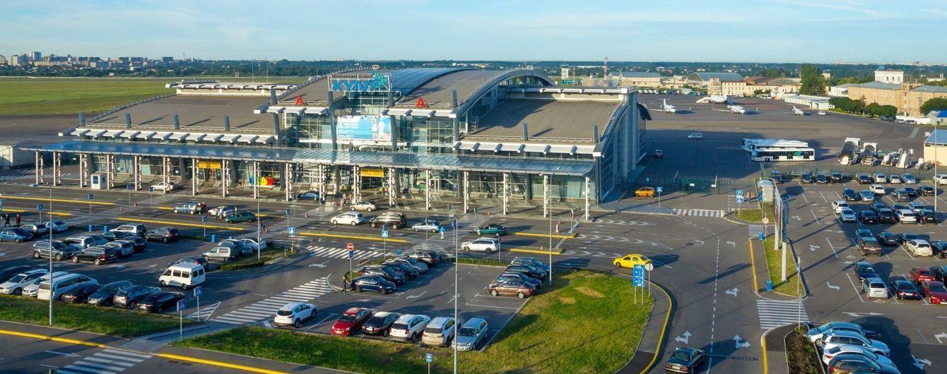 """Аэропорт """"Киев"""" возобновил работу после инцидента с самолетом"""