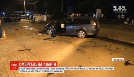 Полиция задержала водителя, который скрылся с места смертельного ДТП на Львовщине