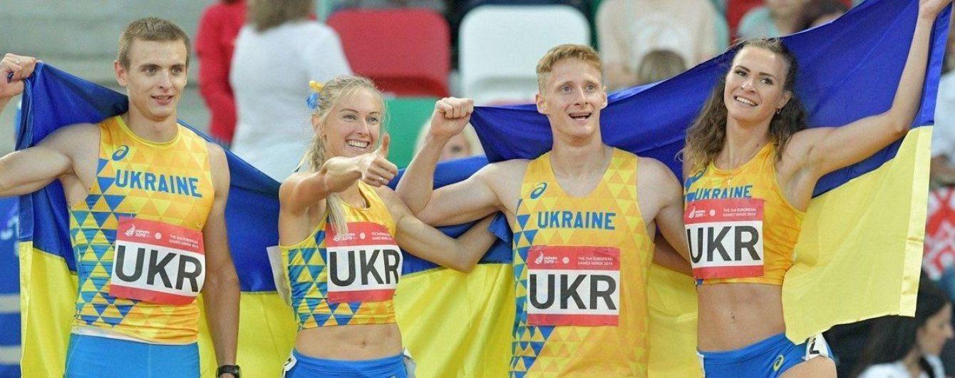Став відомий розмір призових для українських спортсменів за медалі на Європейських іграх