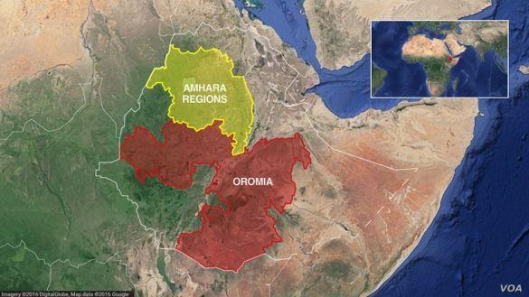 Оромія, Амхара, Ефіопія, для блогів