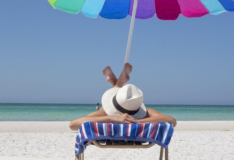 Літо, засмага, пляж,