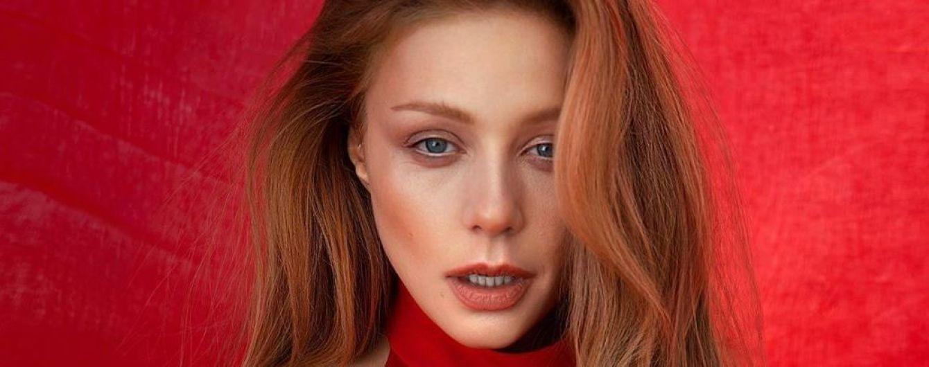 Lady in red: Тина Кароль продемонстрировала новый эффектный аутфит