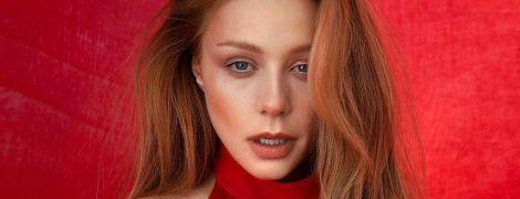 Lady in red: Тіна Кароль продемонструвала новий ефектний аутфіт