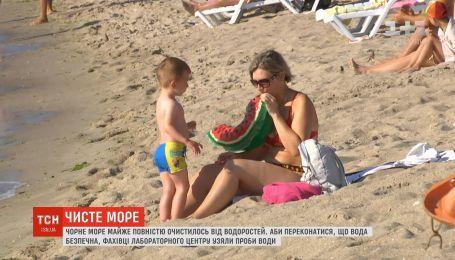 В Одессе специалисты проинспектировали все пляжи и отобрали более сотни проб воды