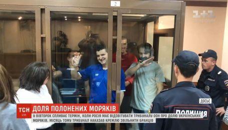 Россия должна отчитаться Трибуналу ООН о судьбе 24 украинских военнопленных моряков