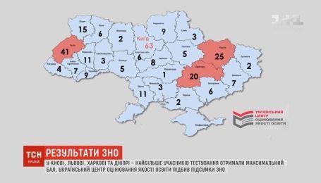 Абитуриенты из Киева, Львова, Харькова и Днепра получили высшие баллы ВНО в этом году