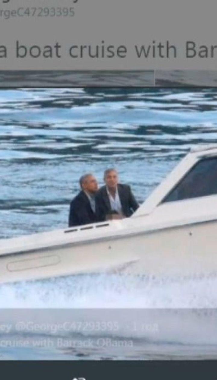 Барак Обама та Джордж Клуні разом з дружинами вирушили відпочивати на озеро Комо