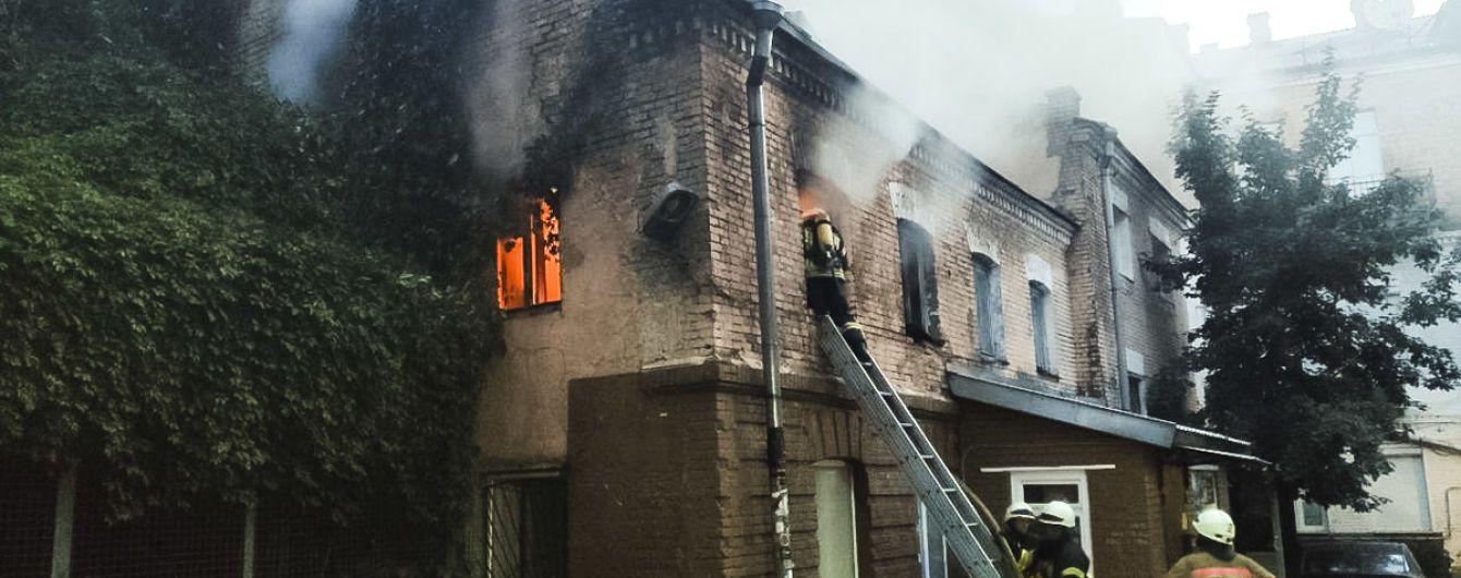 В Киеве горел дом, где живут легендарные вороны