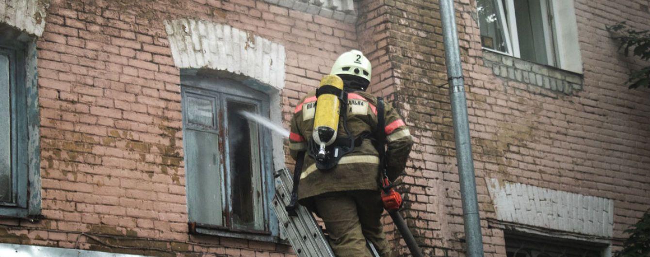 Во Львове произошел пожар в многоэтажке: спасатели эвакуировали жильцов